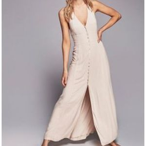 All About It Free People Maxi Beige